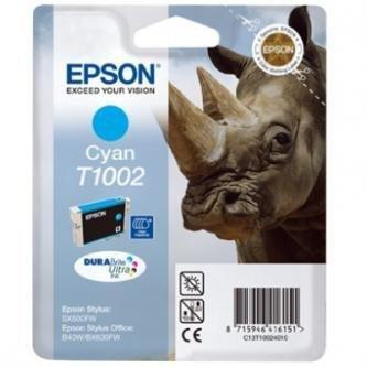 Epson oryginalny wkład atramentowy / tusz C13T10024010. cyan. 11.1ml. Epson Stylus Office B40W. BX600FW C13T10024010