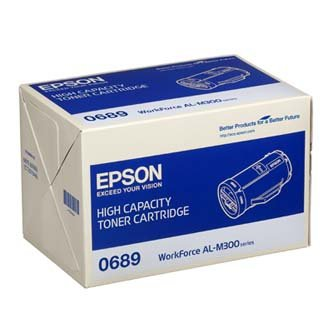 Epson oryginalny toner C13S050689. black. 10000s. high capacity. Epson Aculaser M300D. M300DN C13S050689
