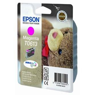 Epson oryginalny wkład atramentowy / tusz C13T06134010. magenta. 250s. 8ml. Epson Stylus D68PE. 88. DX3850. 4200. 4250. 4850