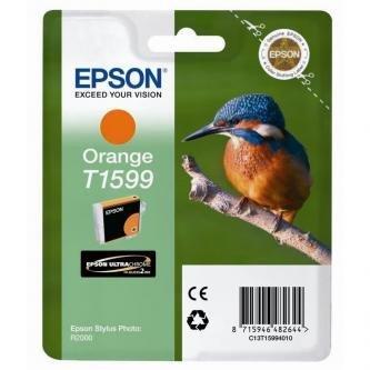 Epson oryginalny wkład atramentowy / tusz C13T15994010. orange. 17ml. Epson Stylus Photo R2000 C13T15994010
