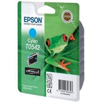 Epson oryginalny wkład atramentowy / tusz C13T054240. cyan. 400s. 13ml. Epson Stylus Photo R800. R1800 C13T05424010
