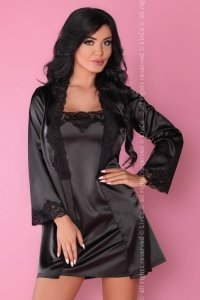 Jacqueline Black LC 90249 koszulka szlafrok i majtki