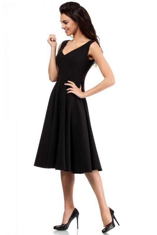 MOE201 sukienka czarna