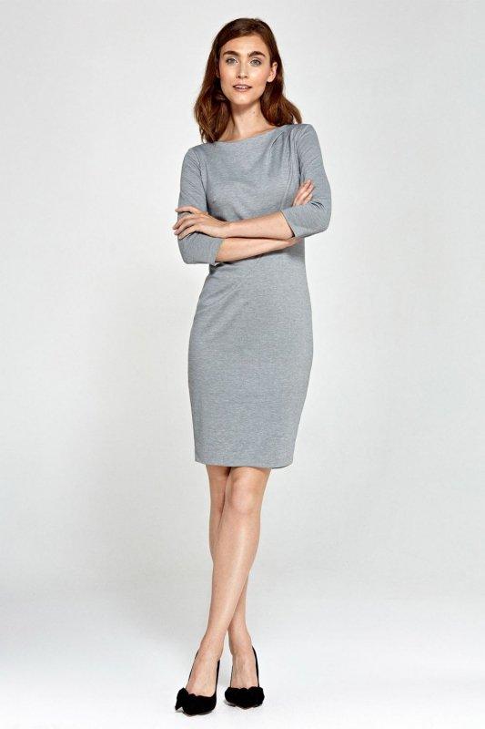 Sukienka - szary - S88