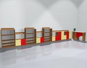 Zestaw szafek przedszkolnych nr 10