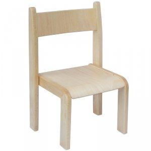 Krzesło przedszkolne drewniane