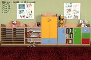 Zestaw mebli przedszkolnych, Primo 4