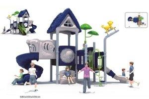 Plac zabaw Domek 02