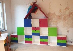 Zestaw szafek przedszkolnych nr 20