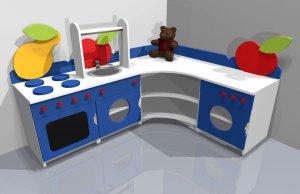 Zestaw Szafek kuchennych dla dziecka