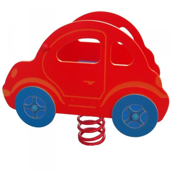 bujak samochód,bujak na plac zabaw,sprężynowiec,bujak na sprężynie,bujak