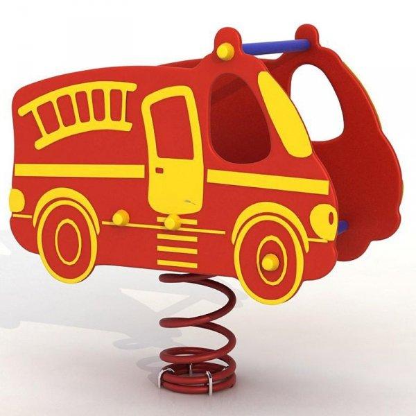 bujak samochód straż,bujak samochód,sprężynowiec straż