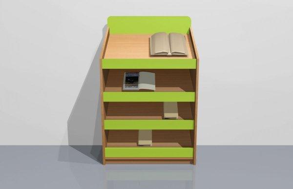 kącik książka,szafka na książki,szafka do przedszkola,kącik przedszkolny,kącik zainteresowań