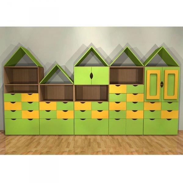zestaw mebli przedszkolnych,zestaw mebli domek,meble domek,domek meble przedszkolne