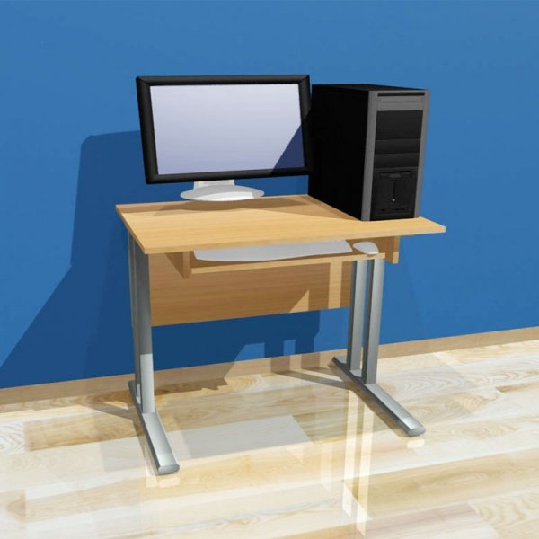 biurko komputerowe 1-osobowe,biurko do pracowni komputerowej,biurko do sali komputerowej
