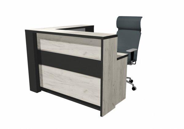 biurko dla dozorcy, biurko do szkoły, recepcja, recepcja do szkoły, biurko na hol, biurko z podwyższeniem, biurko dla ochrony