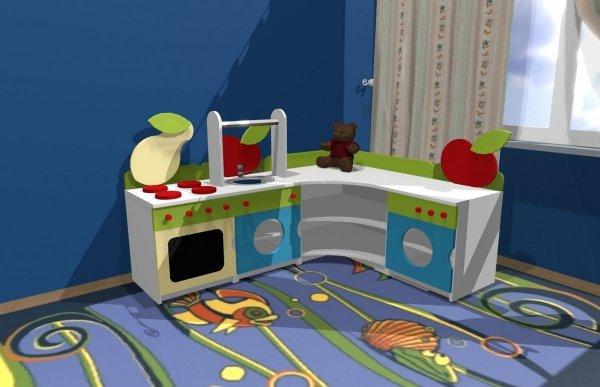 zestaw szafek kuchennych dla dziecka,kącik kuchnia,kącik kuchenny,kąciki dla dziecka