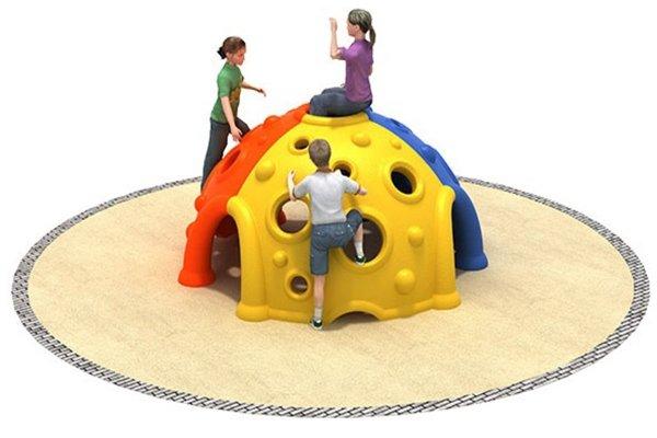 kopuła wspinaczkowa, skałka wspinaczkowa, plac zabaw do wspinania, skałka na plac zabaw, wyposażenie placów zabaw, producent placów zabaw, plastikowe place zabaw, place zabaw przedszkole