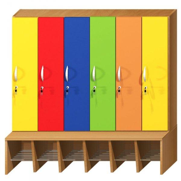 szatnia przedszkolna, szatnia, szatnia dla przedszkolaka, szatnia dziecięca, szatnia dla dziecka, meble do przedszkola, meble do szatni, szatnia do przedszkola, przedszkole, szatnia kolorowa