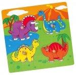 Viga 59565 Puzzle niespodzianka - dinozaury