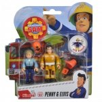 Simba Figurki Strażak Sam Penny i Elvis z akcesoriami