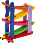 SMALL FOOT Piętrowy Tor Wyścigowy dla Dzieci