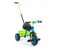 Milly Mally Rowerek Turbo Blue-Green (0336, Milly Mally)