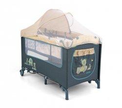 Milly Mally Łóżeczko Mirage Deluxe Blue Toys (0464, Milly Mally)