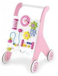 Viga 50178 Edukacyjny chodzik dla dzieci pink