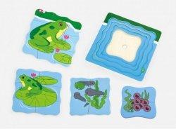 Viga 59516vg Puzzle - jak rośnie żabka