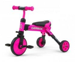 Milly Mally Rowerek 2w1 Grande Pink