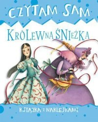 Czytam sam. Królewna Śnieżka. Książka z naklejkami