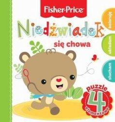 Fisher Price Puzzle Niedźwiadek się chowa