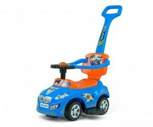 Milly Mally Jeździk 3w1 Pojazd Happy Orange-Blue