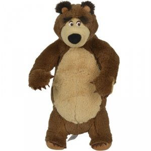 SIMBA Masza i Niedźwiedź MIŚ PLUSZOWY Stojący 25 CM