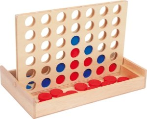 SMALL FOOT Gra 4 W Rzędzie - gra planszowa