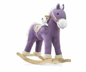 Koń Pony Purple