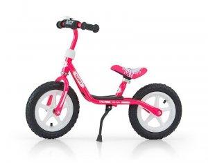 Rowerek Biegowy Dusty 12 Pink-White