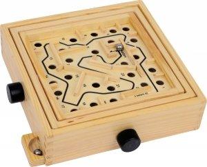 SMALL FOOT Drewniany labirynt Chico- zabawka zręcznościowa