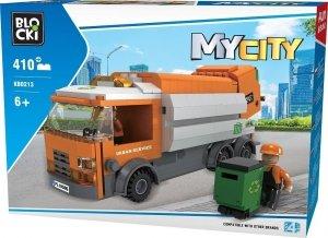 Klocki Blocki MyCity Śmieciarka 410 el.