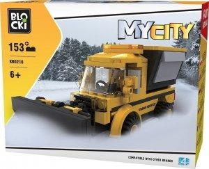 Klocki Blocki MyCity Pług Śnieżny 153 el.