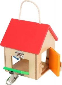 SMALL FOOT Compact Lock House - domek zamków