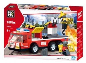 Klocki Blocki MyFireBrigade Wóz strażacki 188 el.