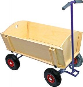 SMALL FOOT Drewniany Wózek Do Ciągnięcia