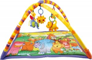SMALL FOOT Baby Blanket Jungle - mata edukacyjna dla niemowląt