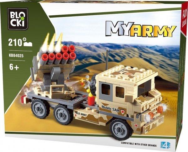 Klocki Blocki MyArmy Wyrzutnia Rakiet 210 el.