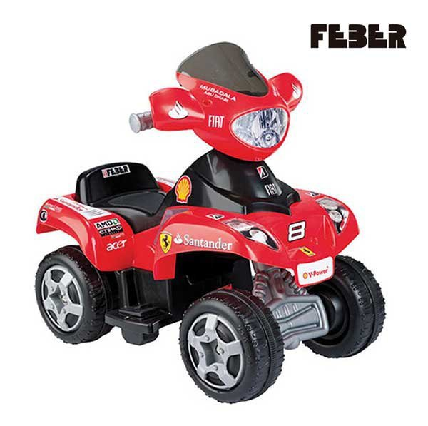 FEBER Quad Ferrari 6V