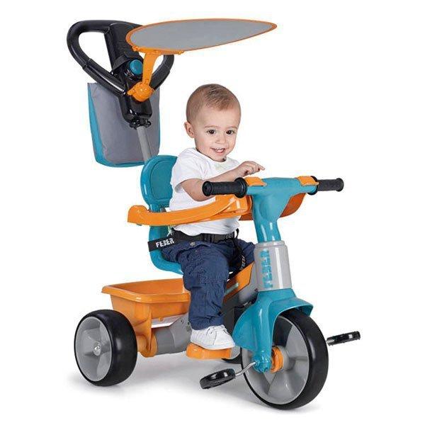 FEBER Rowerek Trójkołowy 3w1 Baby Plus z Dźwiękiem