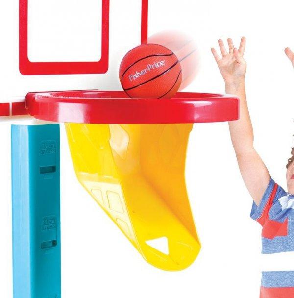 Fisher Price Koszykówka Regulowana Kosz + Piłka