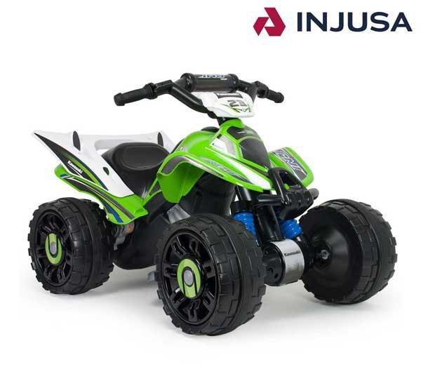 INJUSA Quad Kawasaki Elektryczny 12 V